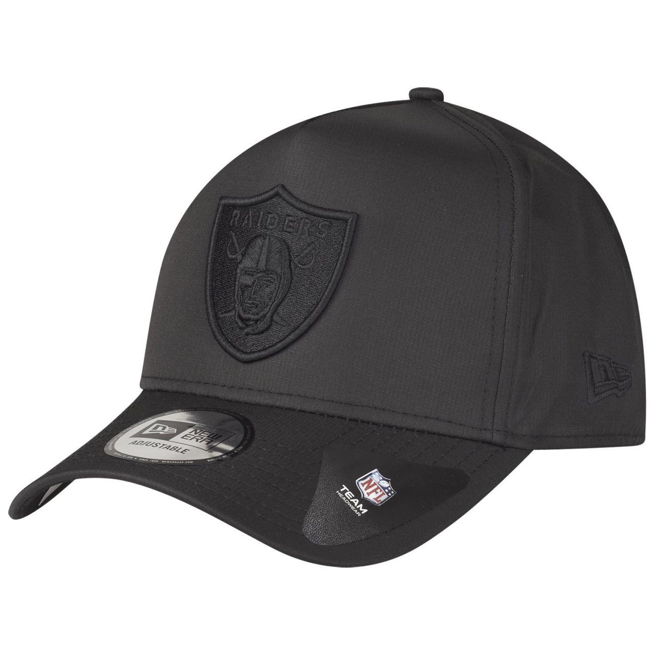 amfoo - New Era A-Frame Ripstop Trucker Cap - NFL Las Vegas Raiders