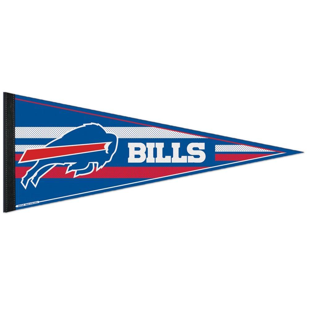 amfoo - Wincraft NFL Filz Wimpel 75x30cm - Buffalo Bills