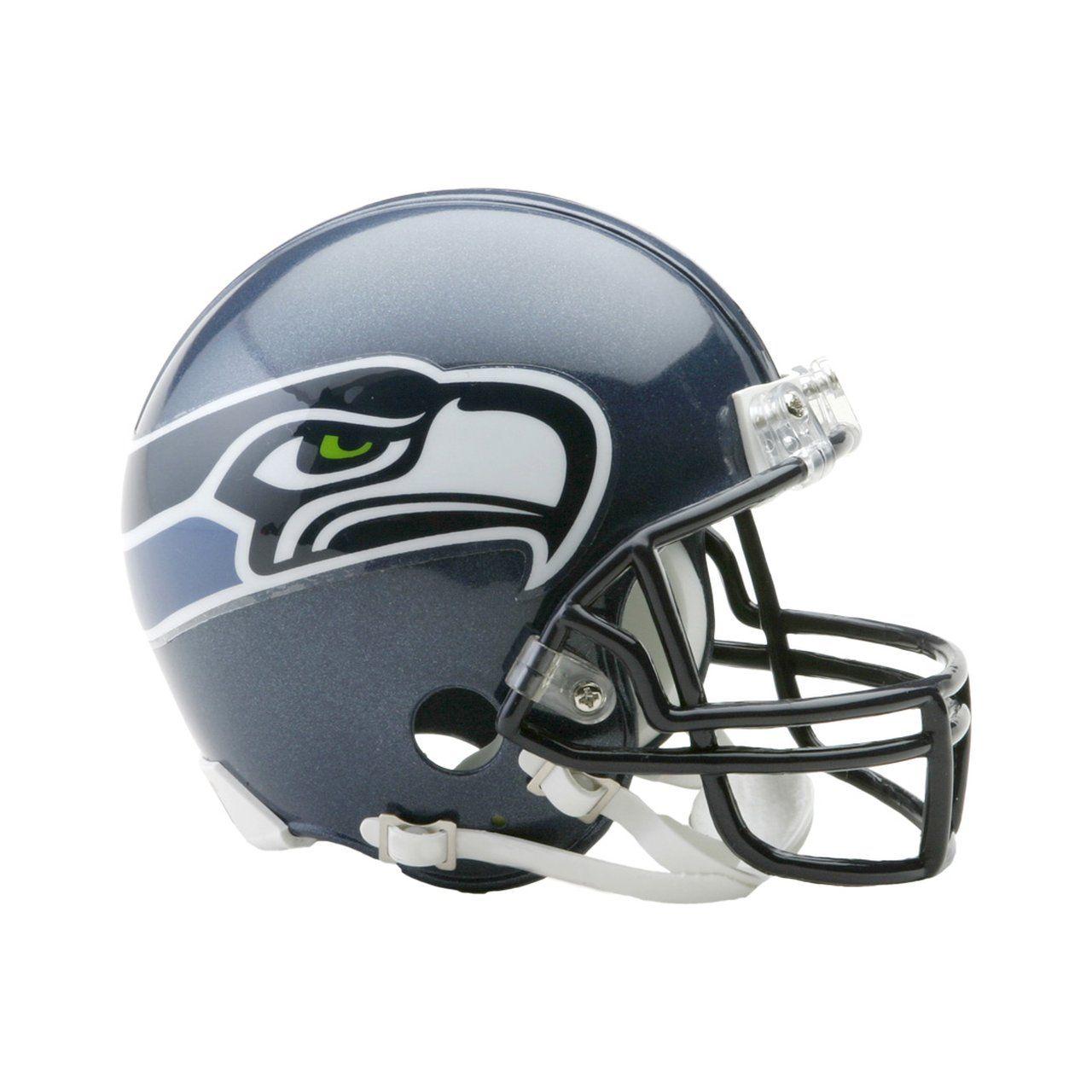amfoo - Riddell VSR4 Mini Football Helm NFL Seattle Seahawks 2002-11