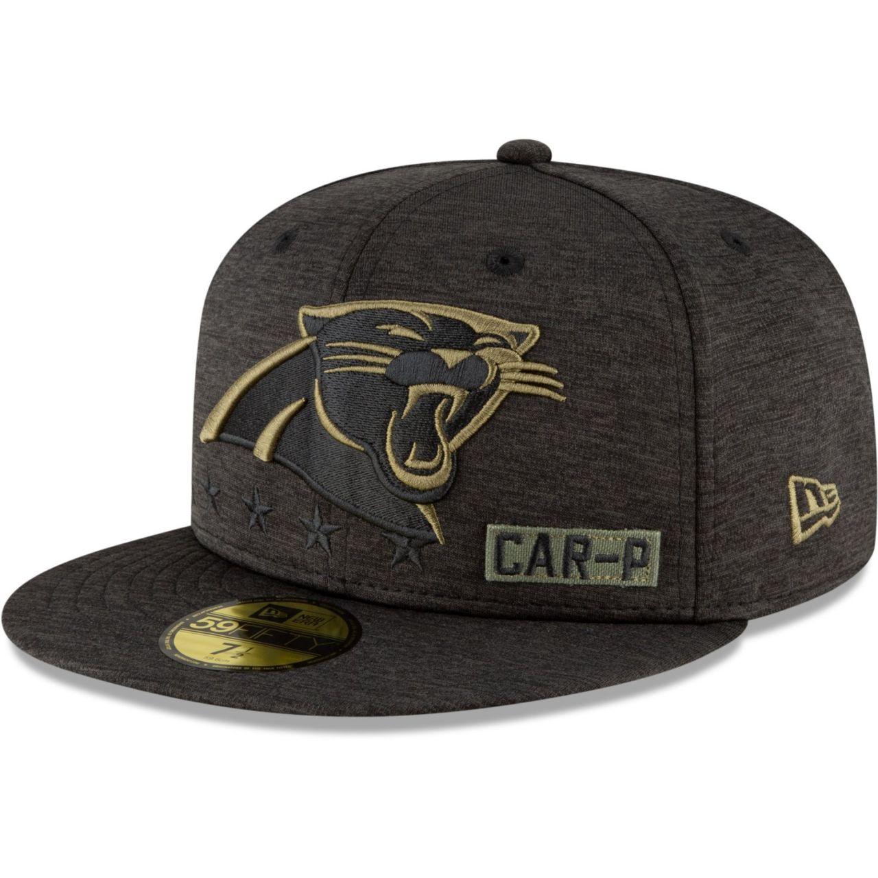 amfoo - New Era 59FIFTY Cap Salute to Service NFL Carolina Panthers