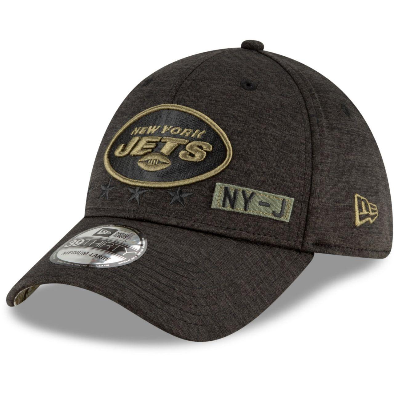 amfoo - New Era 39Thirty Cap Salute to Service New York Jets