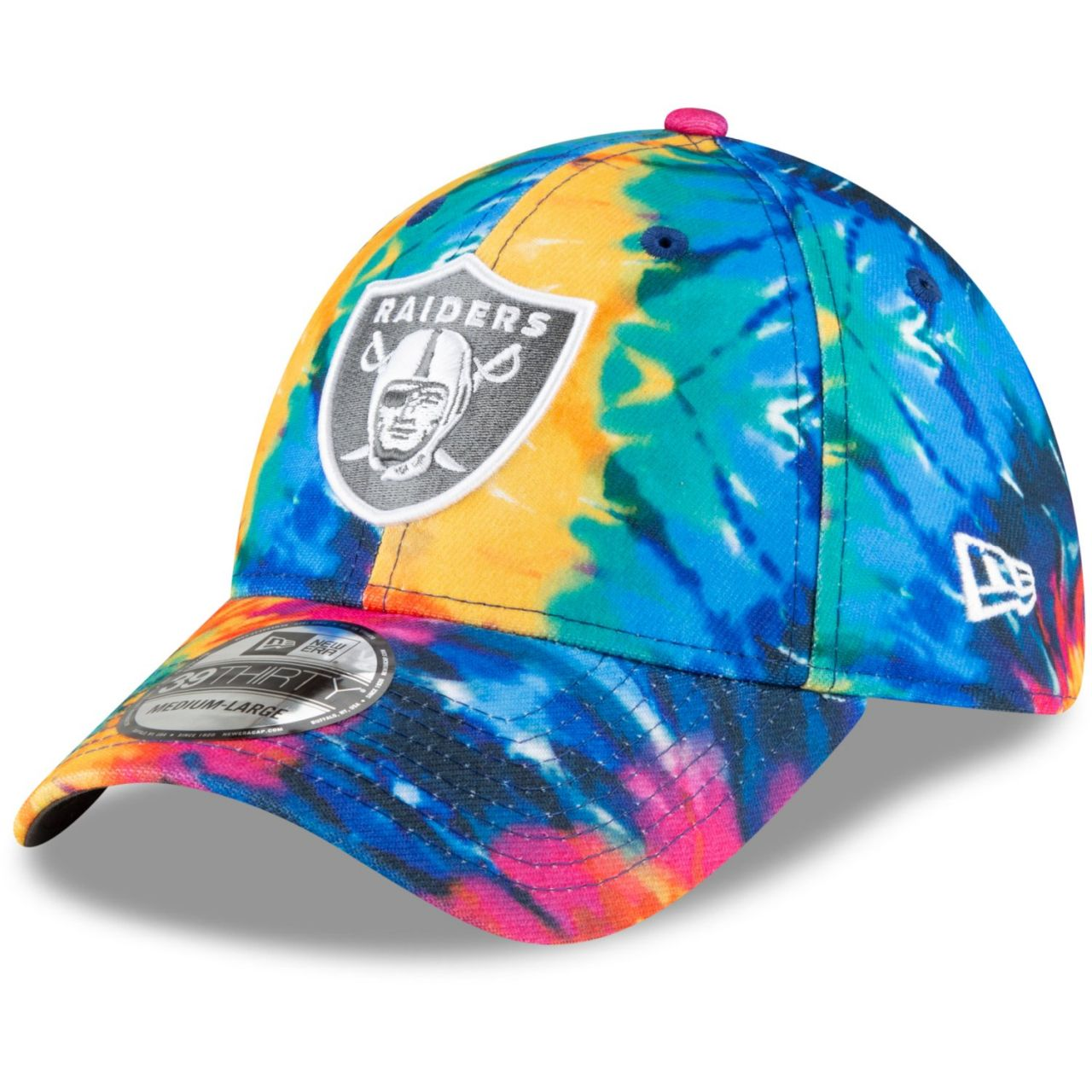 amfoo - New Era 39Thirty Cap - CRUCIAL CATCH Las Vegas Raiders