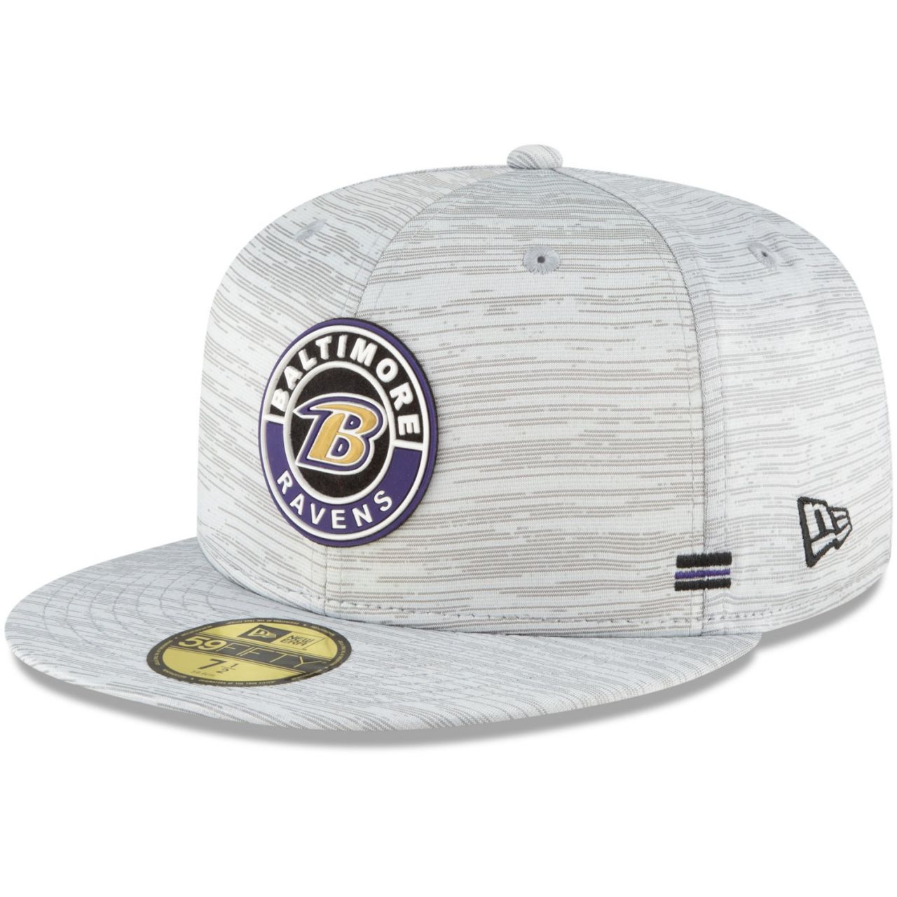 amfoo - New Era 59Fifty Fitted Cap - SIDELINE 2020 Baltimore Ravens