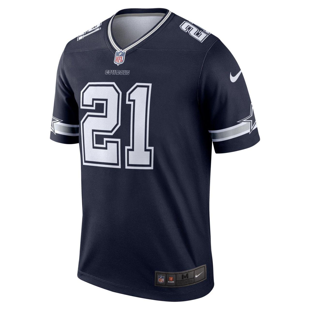 amfoo - Nike LEGEND Jersey Trikot Dallas Cowboys #21 Ezekiel Elliott