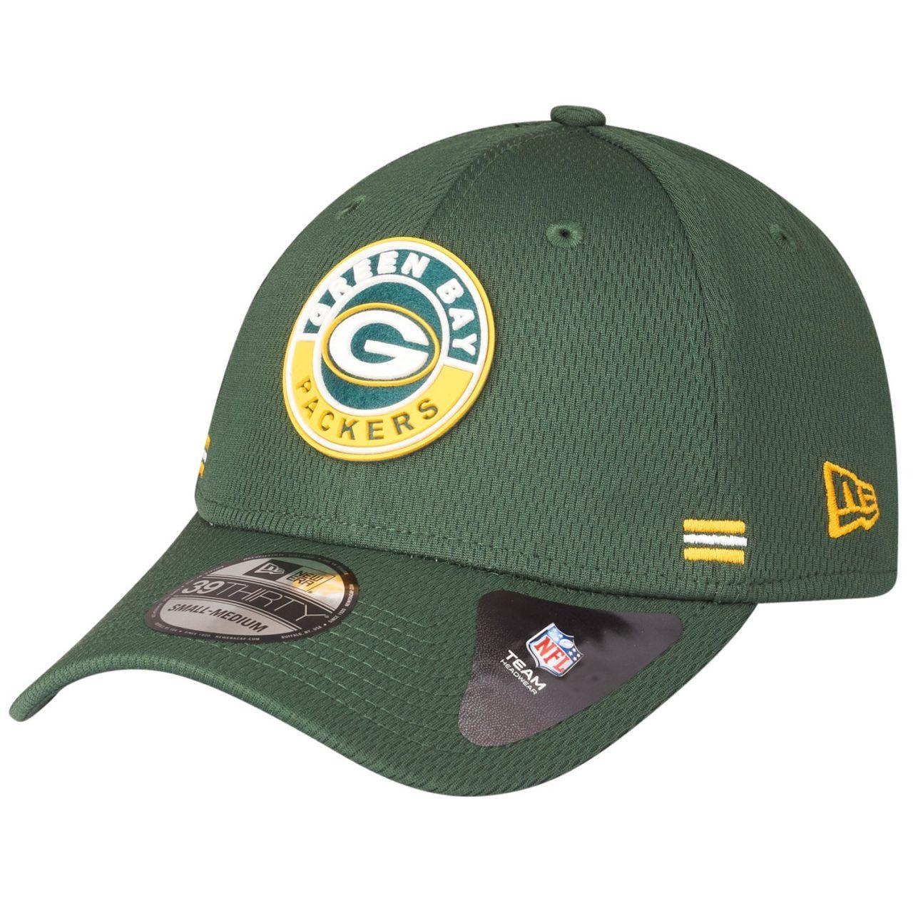 amfoo - New Era 39Thirty Cap - ROAD Green Bay Packers