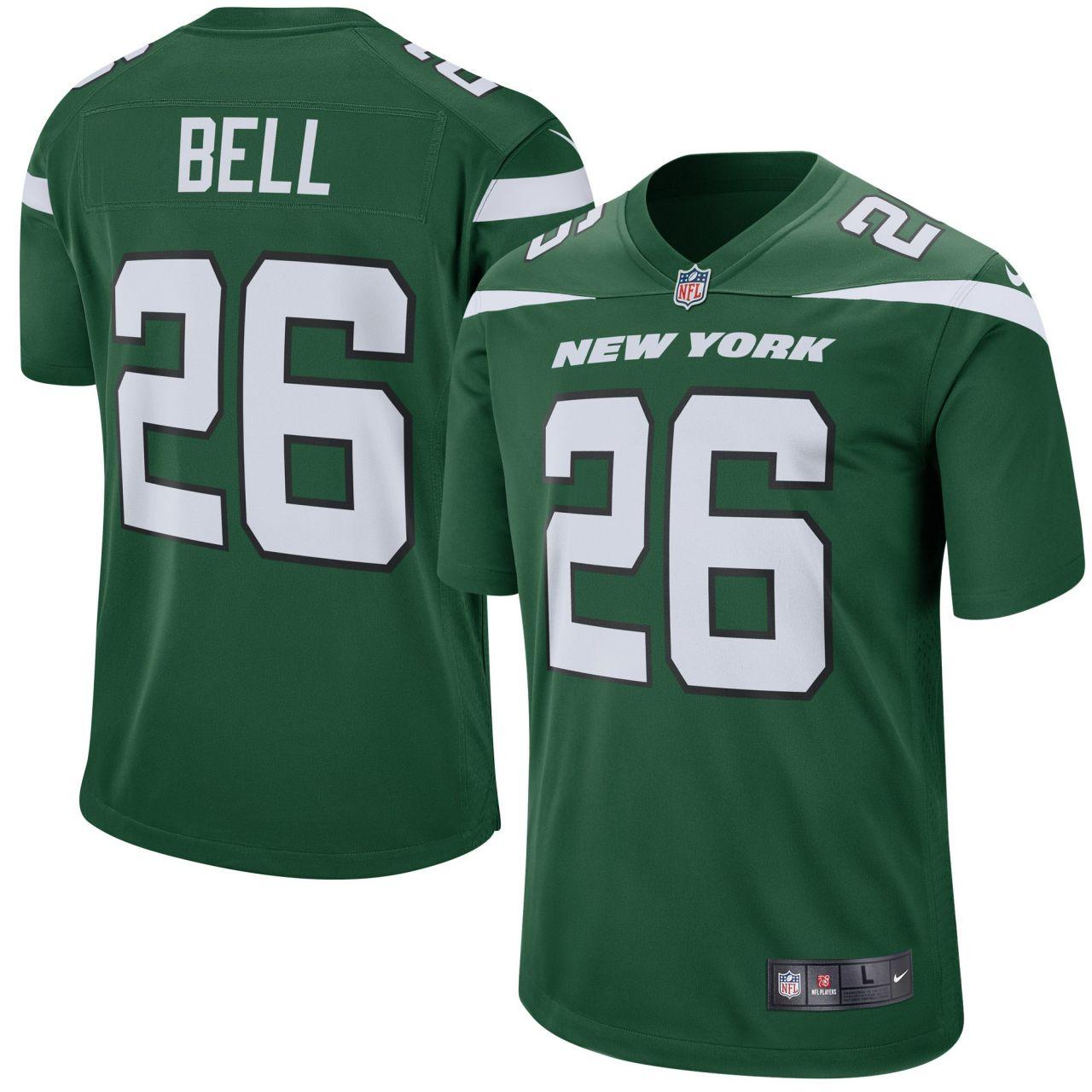 amfoo - Nike GAME Jersey Trikot New York Jets #26 LeVeon Bell