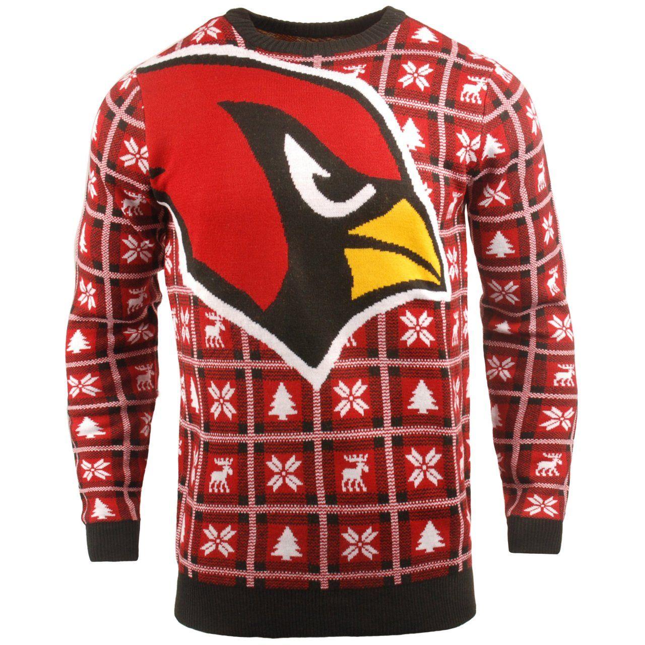 amfoo - NFL Ugly Sweater XMAS Strick Pullover - Arizona Cardinals