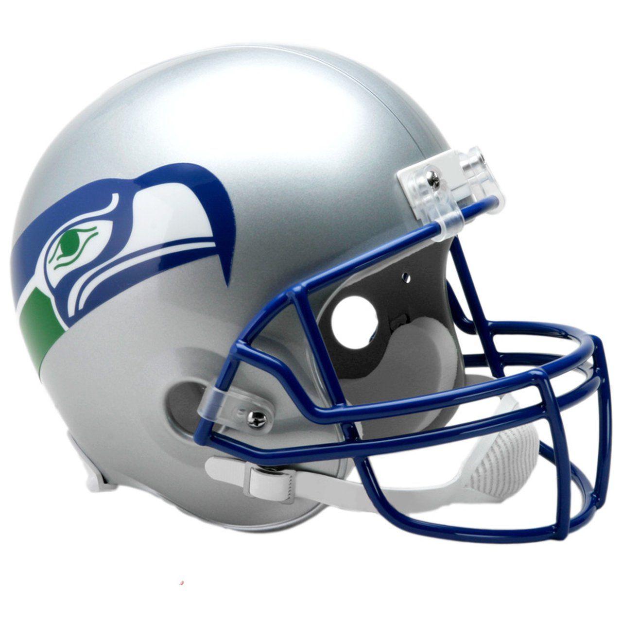 amfoo - Riddell VSR4 Replica Helm - Seattle Seahawks 1983-2001