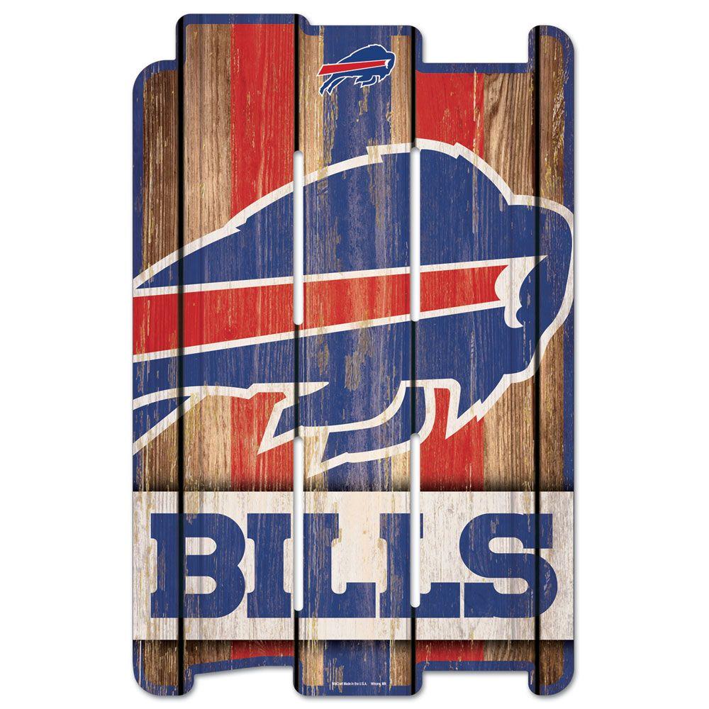 amfoo - Wincraft PLANK Holzschild Wood Sign - NFL Buffalo Bills