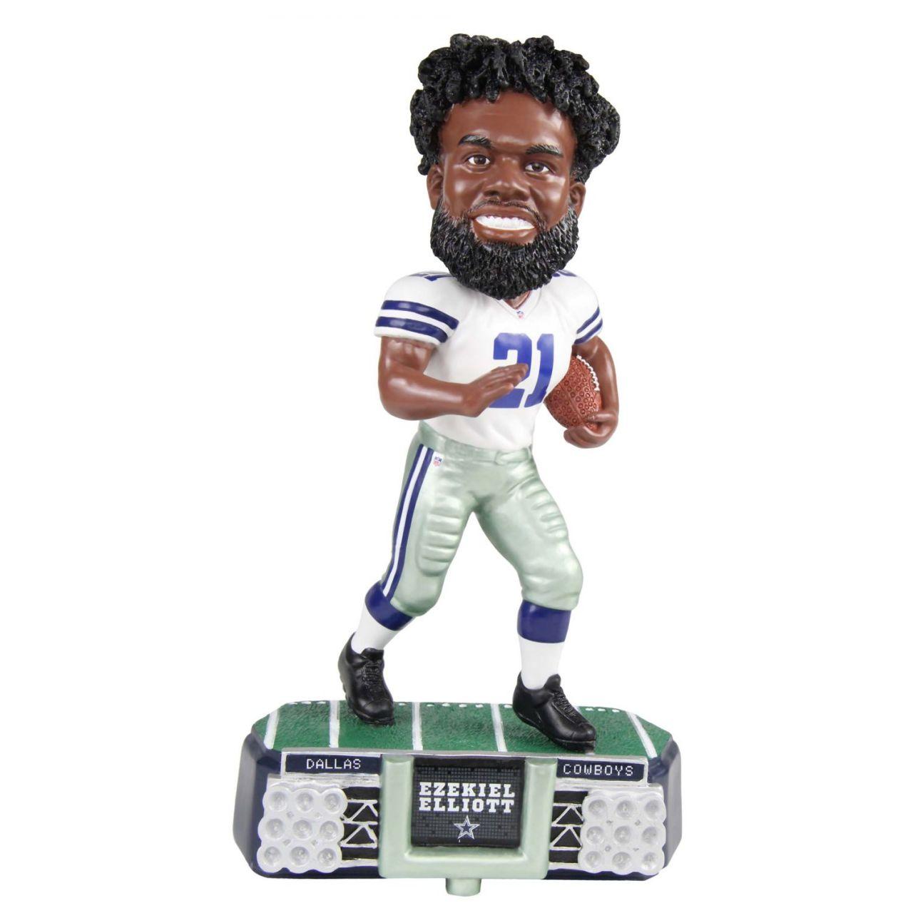 amfoo - Ezekiel Elliott #21 Bobblehead NFL Dallas Cowboys Stadium