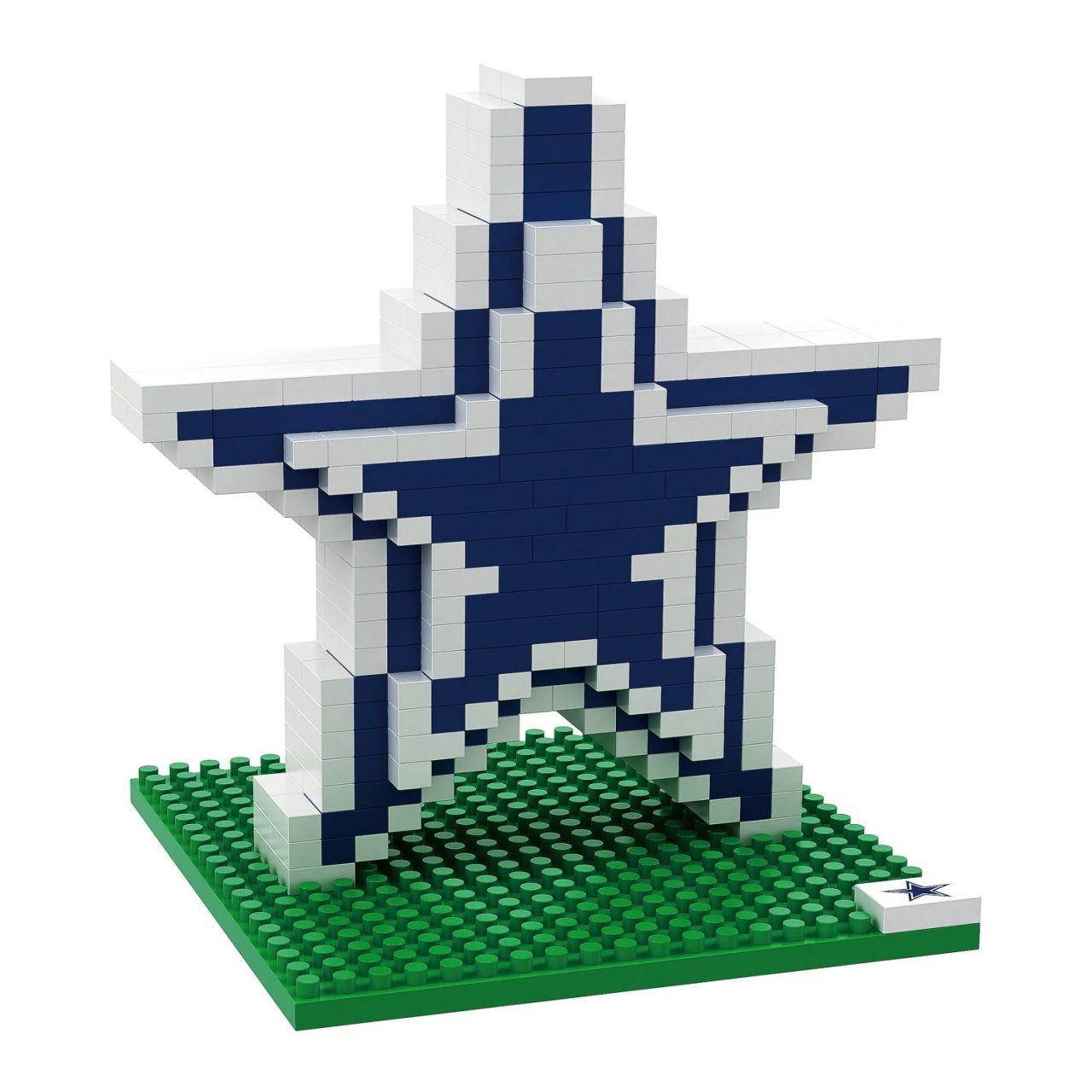 amfoo - Dallas Cowboys BRXLZ NFL 3D LOGO Bausatz