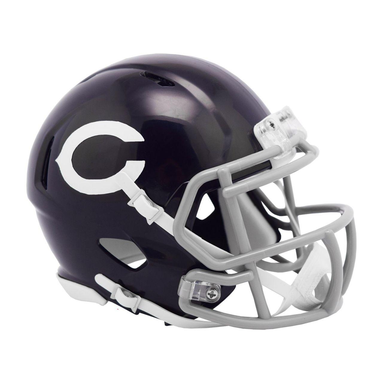 amfoo - Riddell Mini Football Helm - NFL Chicago Bears Classic