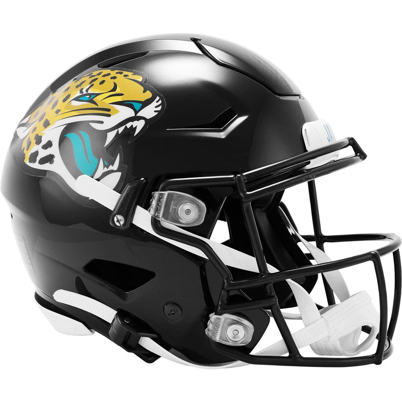 amfoo - Riddell Authentic SpeedFlex Helm - NFL Jacksonville Jaguars