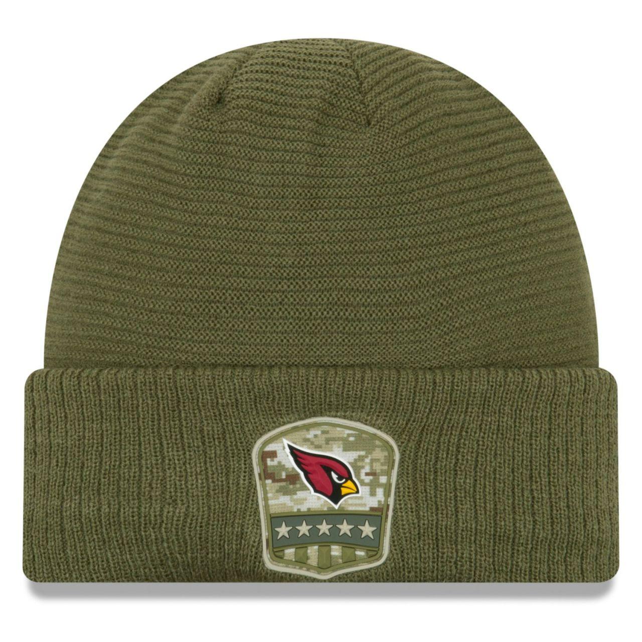 amfoo - New Era Salute to Service Wintermütze - Arizona Cardinals