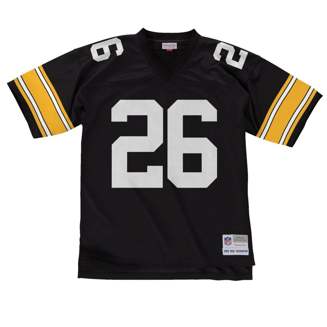 amfoo - NFL Legacy Jersey - Pittsburgh Steelers 1993 Rod Woodson