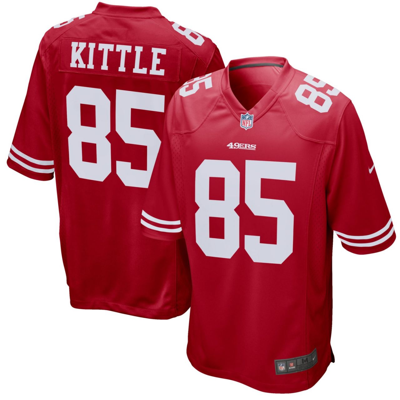 amfoo - Nike GAME Jersey San Francisco 49ers #85 George Kittle