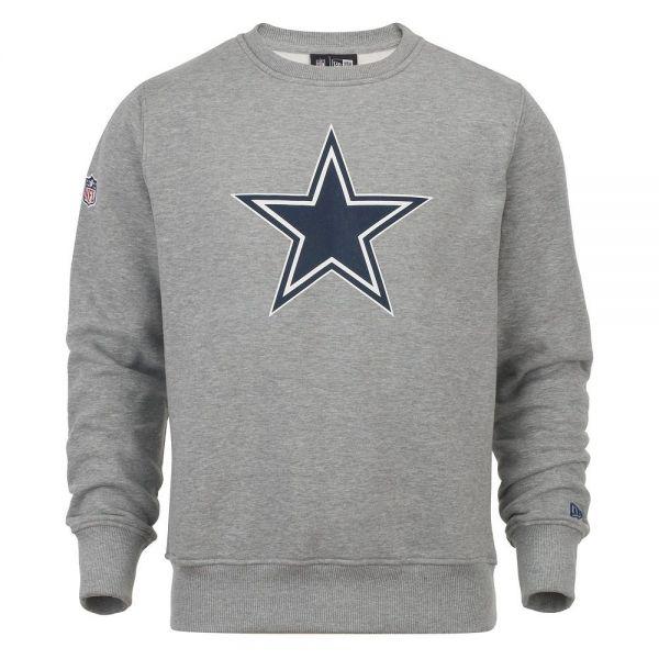 New Era Pullover - NFL Dallas Cowboys grau
