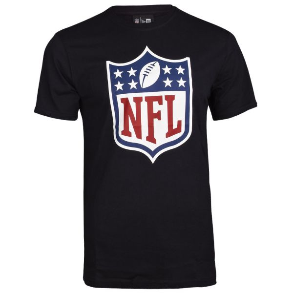 New Era Basic Shirt - NFL LOGO schwarz
