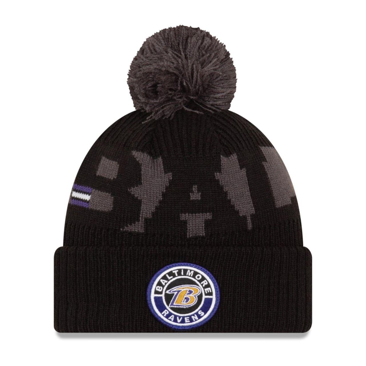 amfoo - New Era NFL ON-FIELD Sideline Kinder Mütze Baltimore Ravens