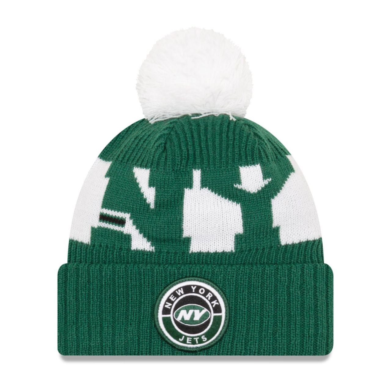 amfoo - New Era NFL ON-FIELD Sideline Kinder Mütze New York Jets