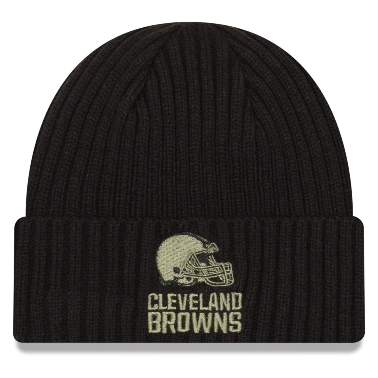 amfoo - New Era Salute to Service Wintermütze - Cleveland Browns