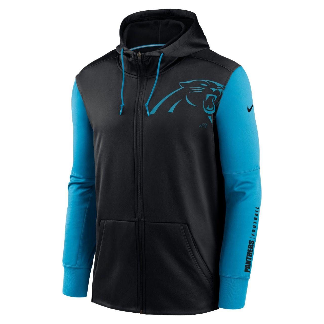 amfoo - Nike NFL Therma Zip Hoody - Carolina Panthers