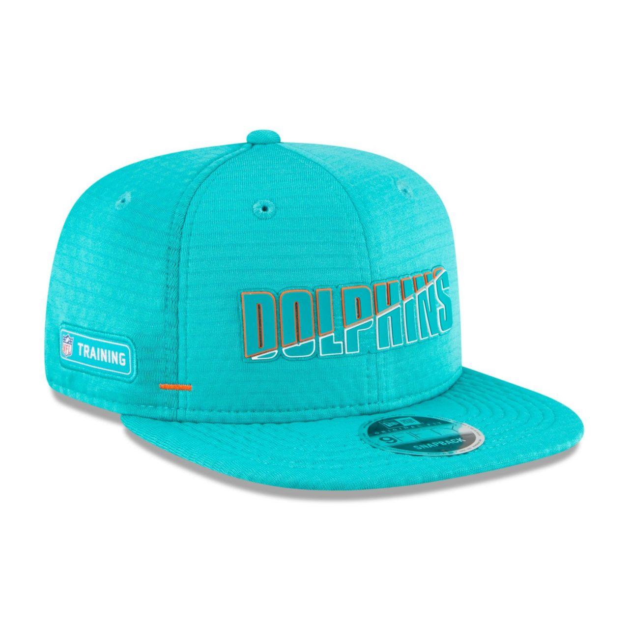 amfoo - New Era Snapback KINDER Cap - NFL CAMP Miami Dolphins