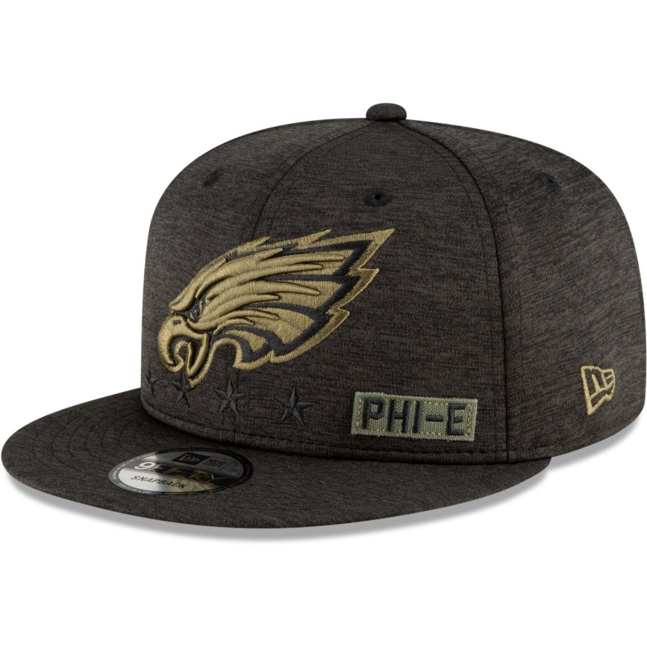 amfoo - New Era 9FIFTY Cap Salute to Service Philadelphia Eagles
