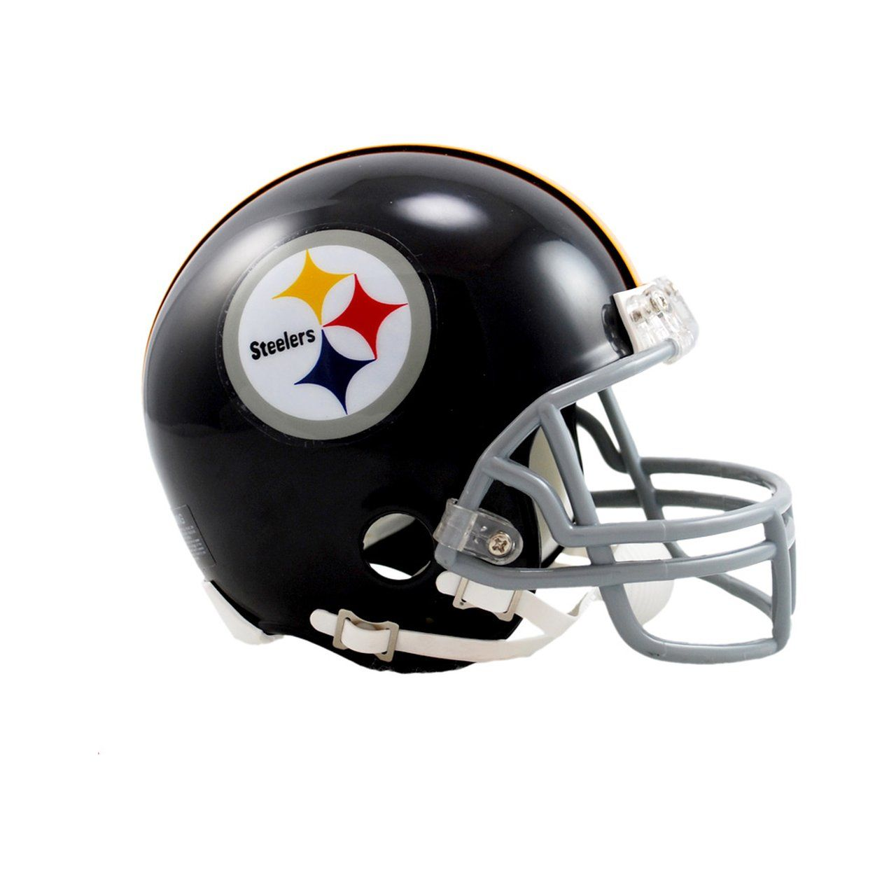 amfoo - Riddell VSR4 Mini Football Helm - Pittsburgh Steelers 63-76