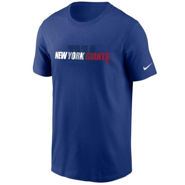 Nike NFL Tonal Essential Shirt - New York Giants