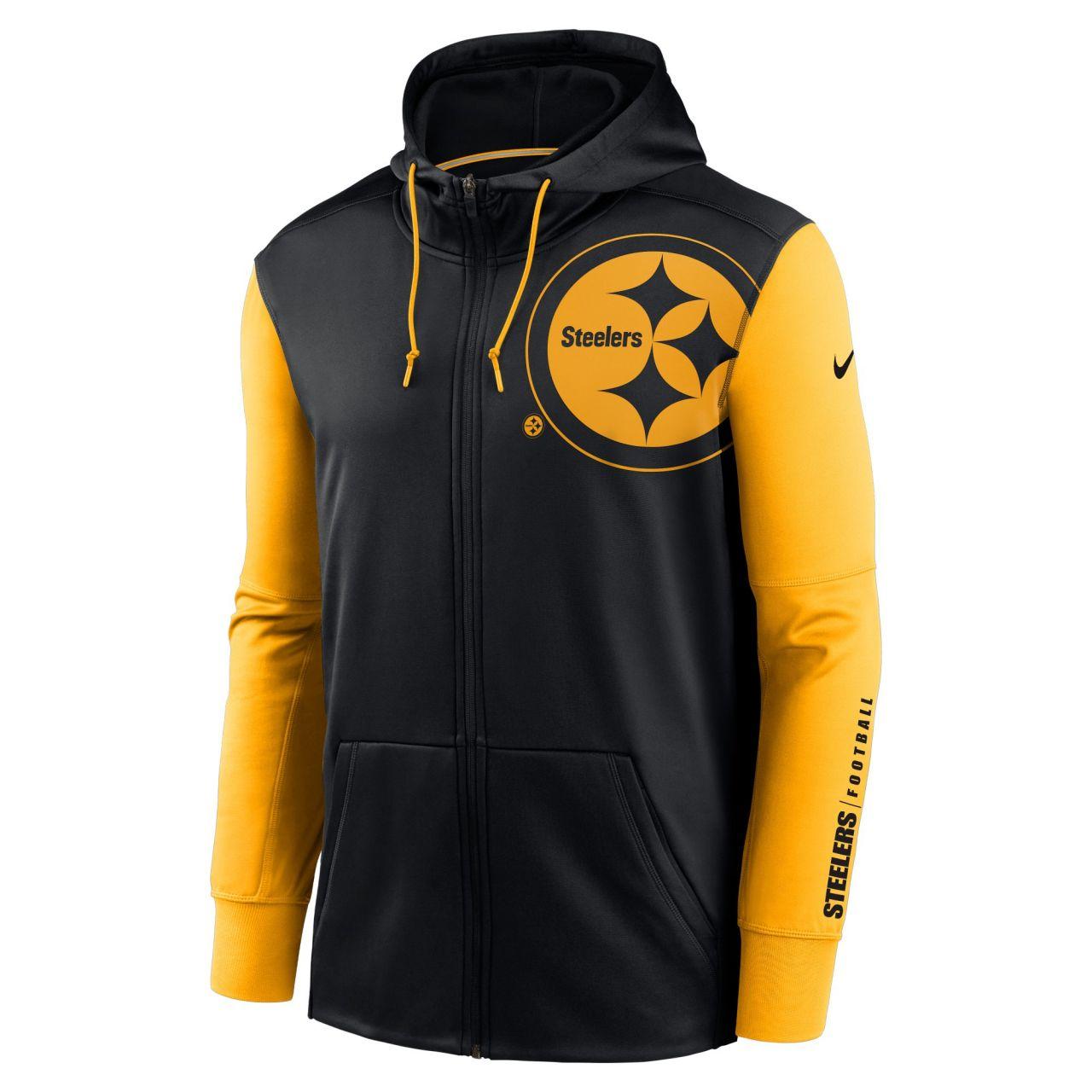 amfoo - Nike NFL Therma Zip Hoody - Pittsburgh Steelers