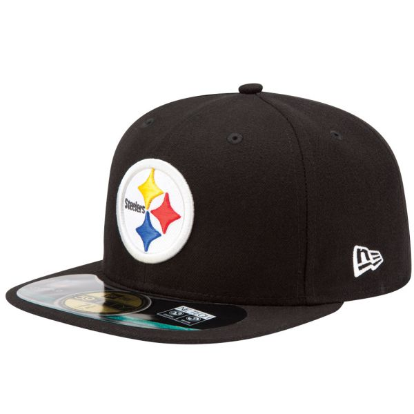 New Era Cap - NFL ON FIELD Pittsburgh Steelers schwarz