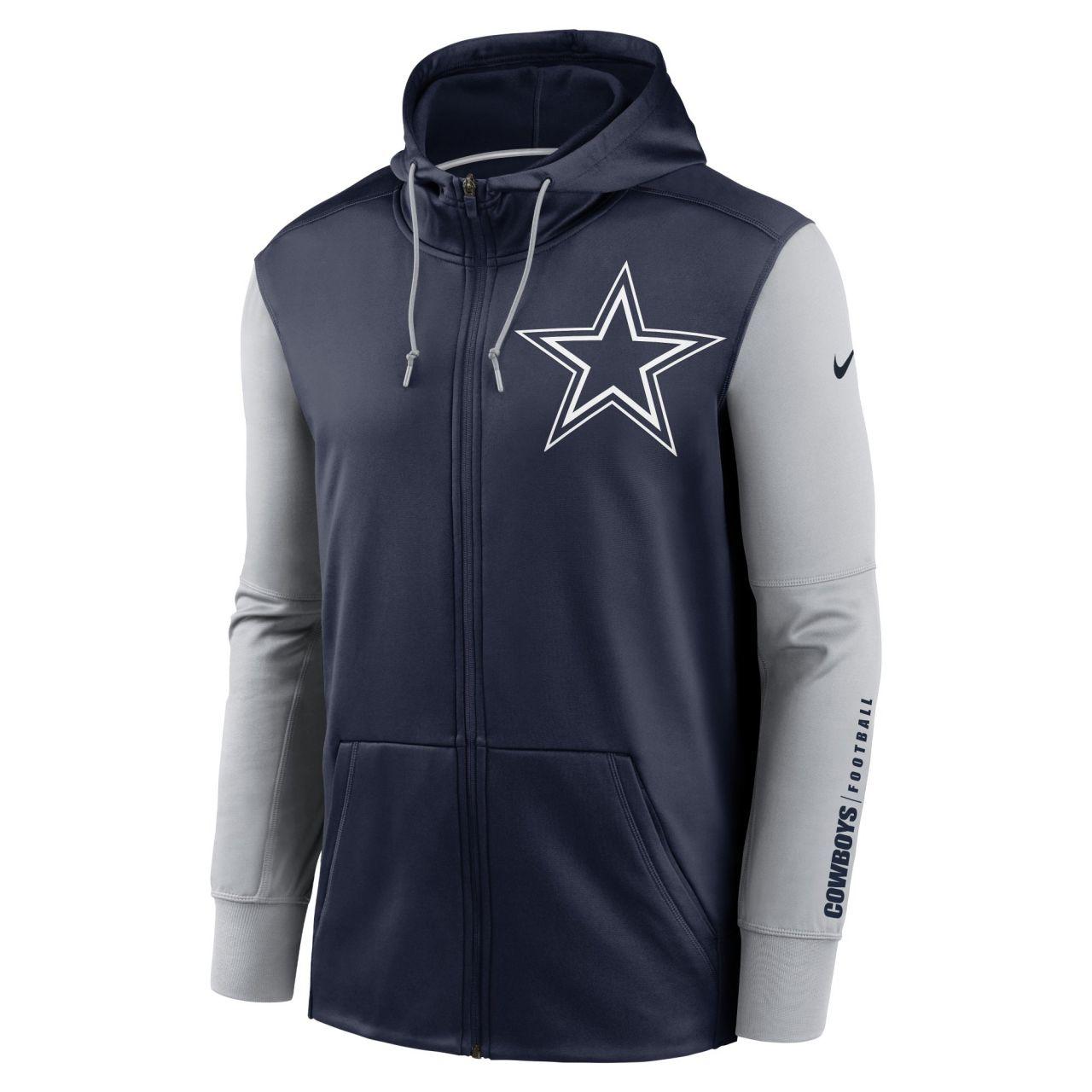 amfoo - Nike NFL Therma Zip Hoody - Dallas Cowboys