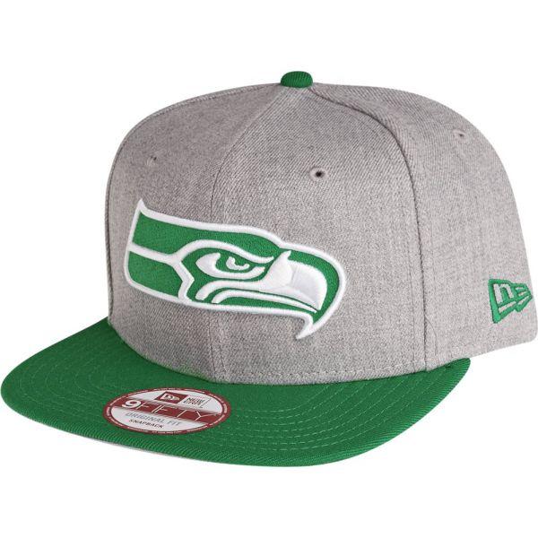 New Era 9Fifty Snapback Cap - Seattle Seahawks grau / celtic