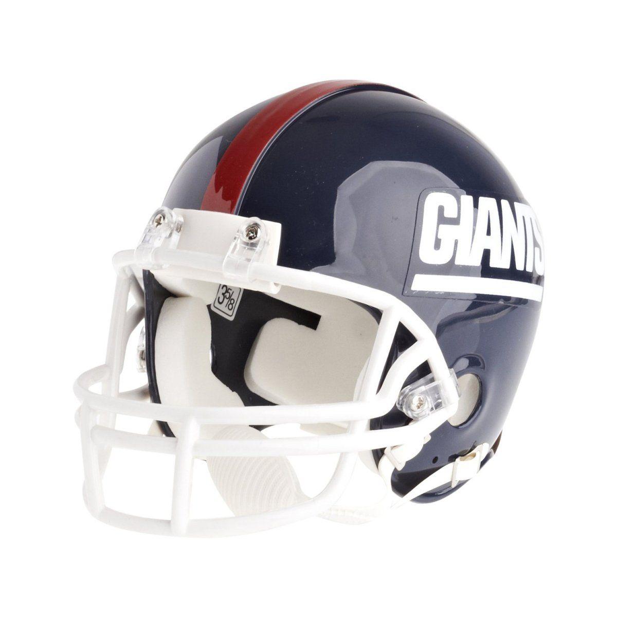 amfoo - Riddell VSR4 Mini Football Helm - NFL New York Giants 81-99