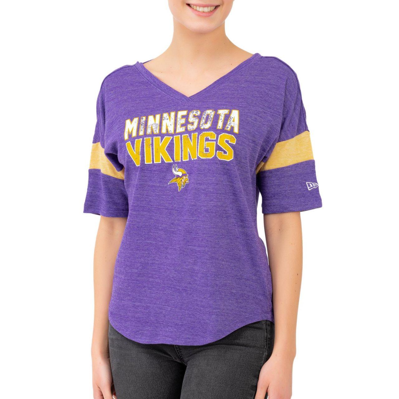 amfoo - New Era NFL Damen Top - CUT BACK Minnesota Vikings