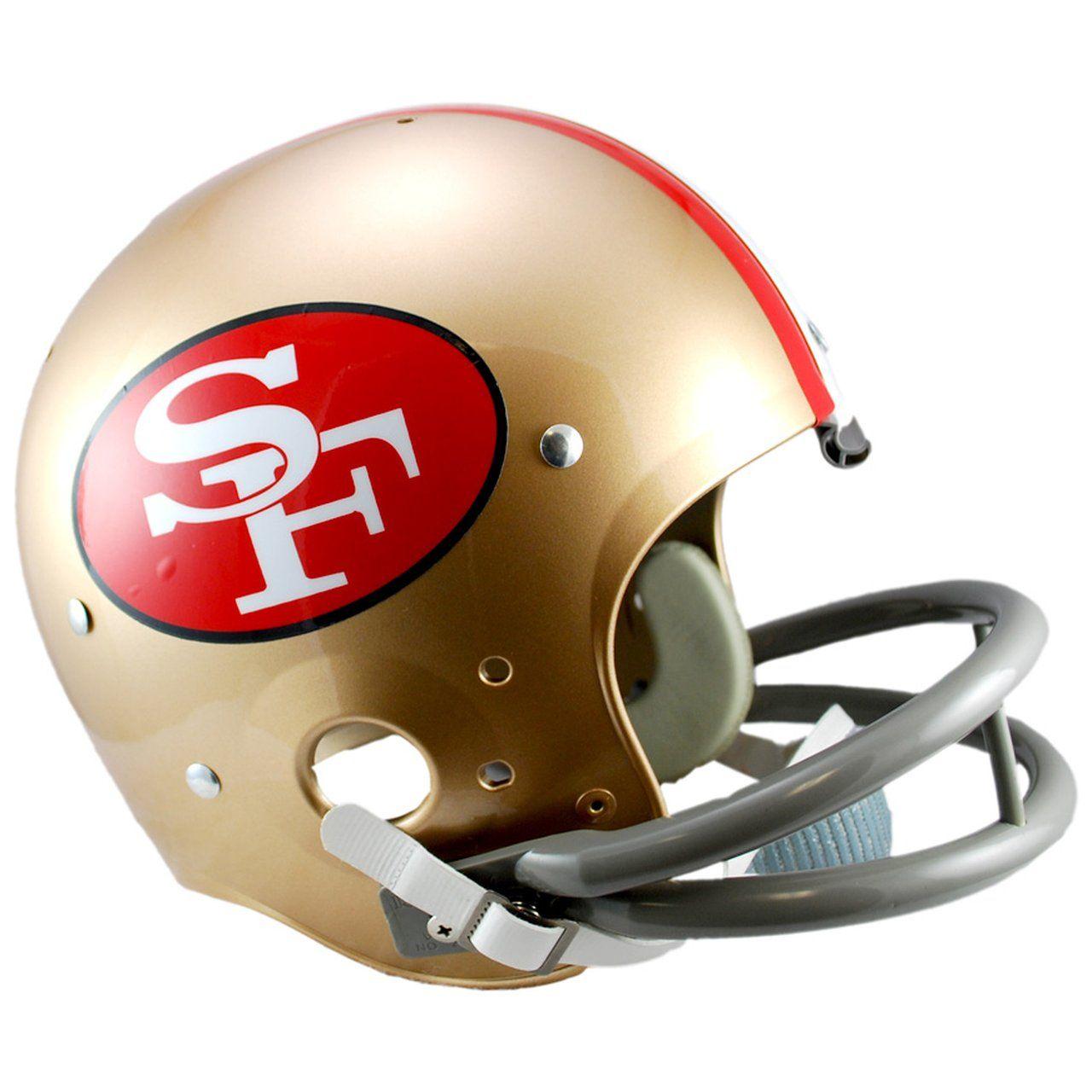 amfoo - Riddell TK Replica Football Helm San Francisco 49ers 1964-88