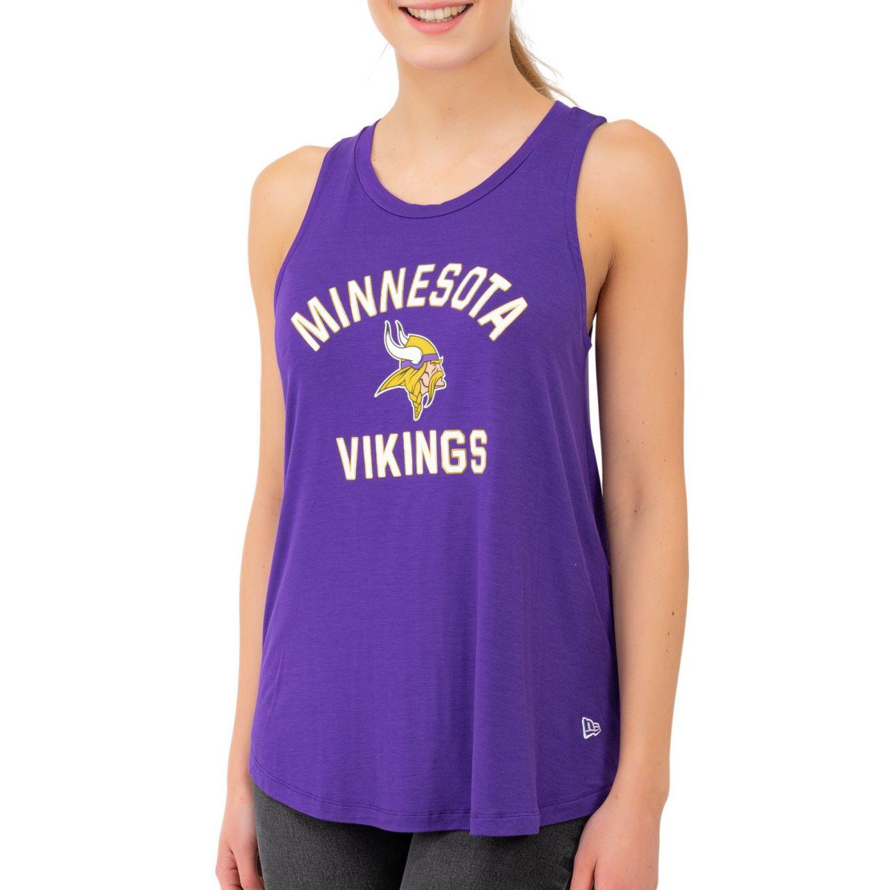 amfoo - New Era NFL Damen Jersey Tank Top - CORE Minnesota Vikings