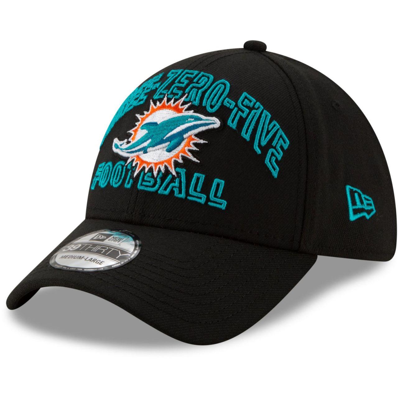 amfoo - New Era 39Thirty Cap - NFL 2020 DRAFT Miami Dolphins