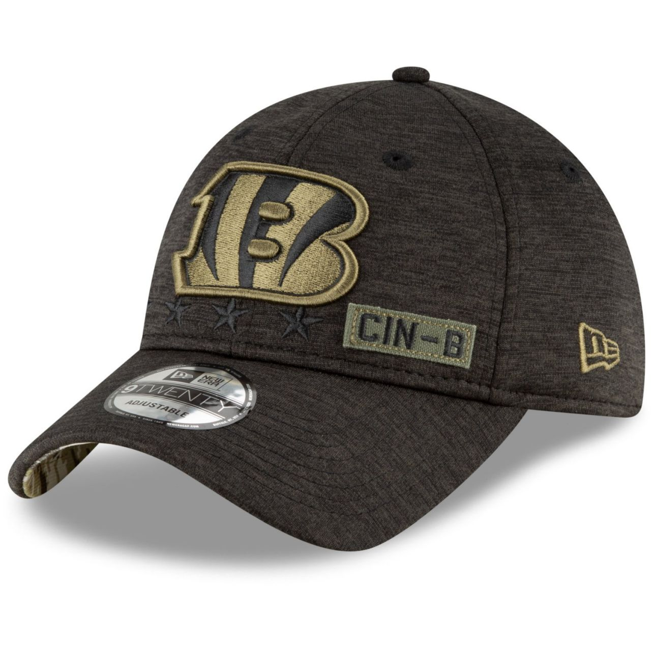 amfoo - New Era 9TWENTY Cap Salute to Service Cincinnati Bengals