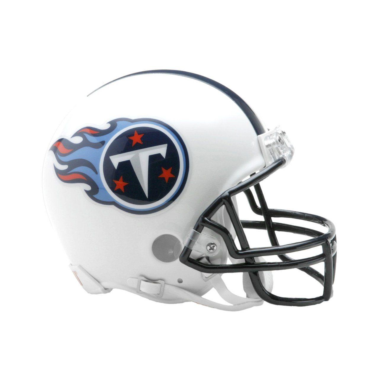 amfoo - Riddell VSR4 Mini Football Helm - Tennessee Titans 1999-2017