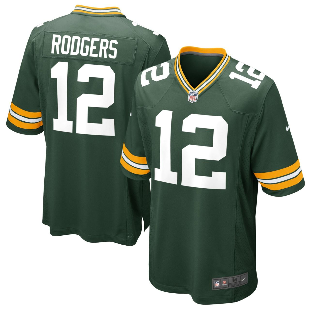 amfoo - Nike GAME Jersey Trikot Green Bay Packers #12 Aaron Rodgers