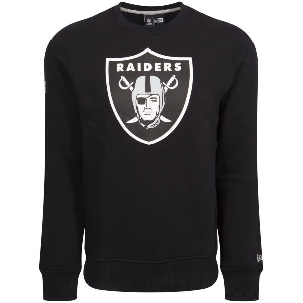 New Era Pullover - NFL Oakland Raiders schwarz