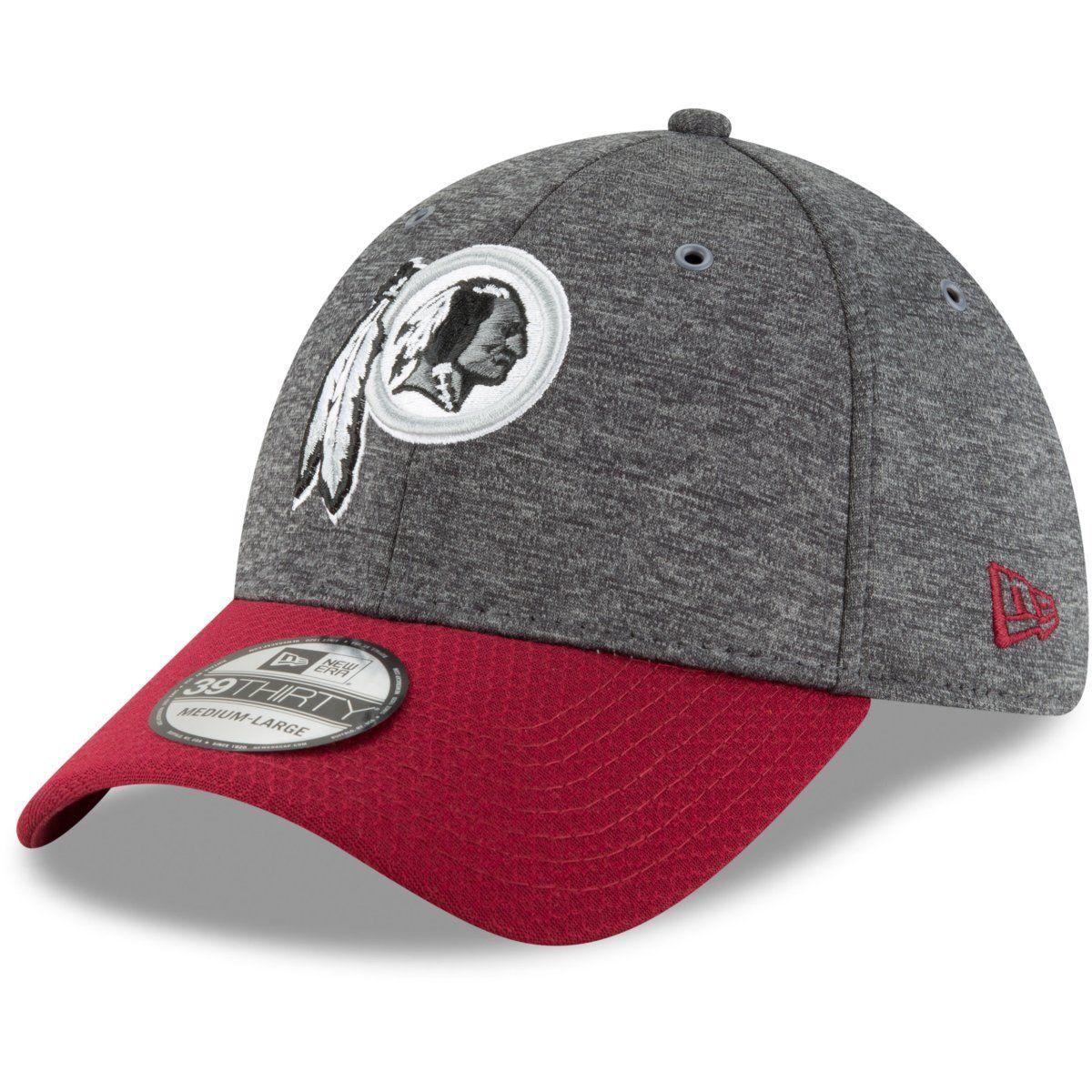 amfoo - New Era 39Thirty Cap - Sideline Graphite Washington Redskins