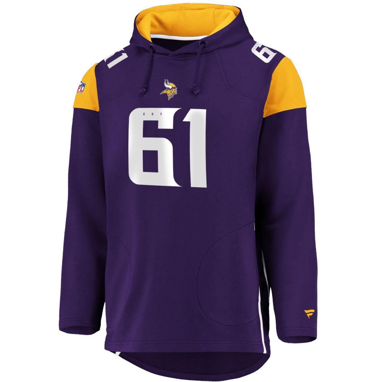 amfoo - Iconic Franchise Long Hoodie - NFL Minnesota Vikings