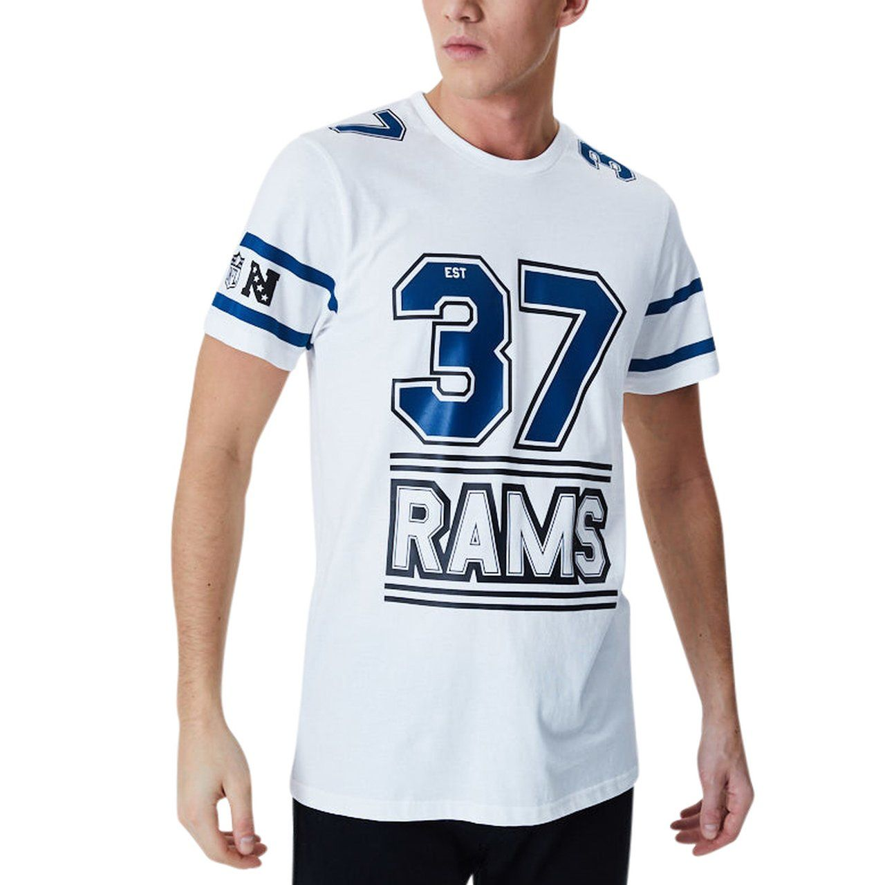 amfoo - New Era ESTABLISHED Shirt - Los Angeles Rams weiß