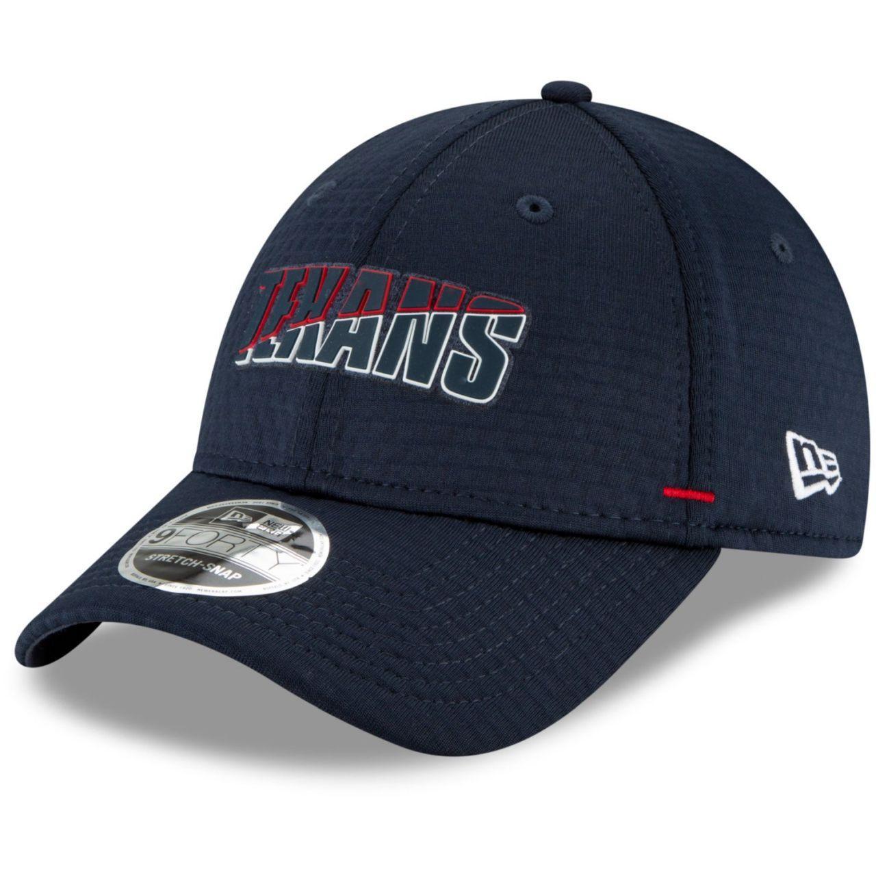 amfoo - New Era 9FORTY Stretch Snap Cap - NFL CAMP Houston Texans