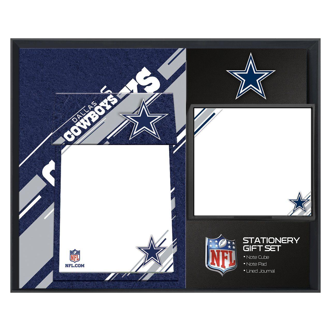 amfoo - Turner NFL Dallas Cowboys Schreibtisch Notiz Geschenkset