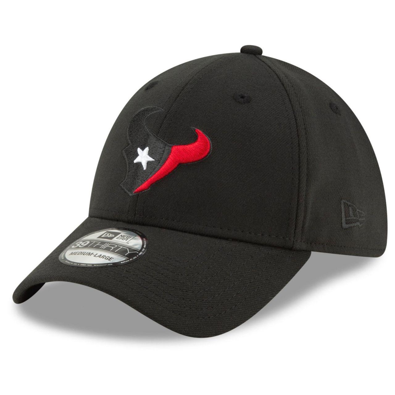 amfoo - New Era 39Thirty Stretch Cap - ELEMENTS Houston Texans