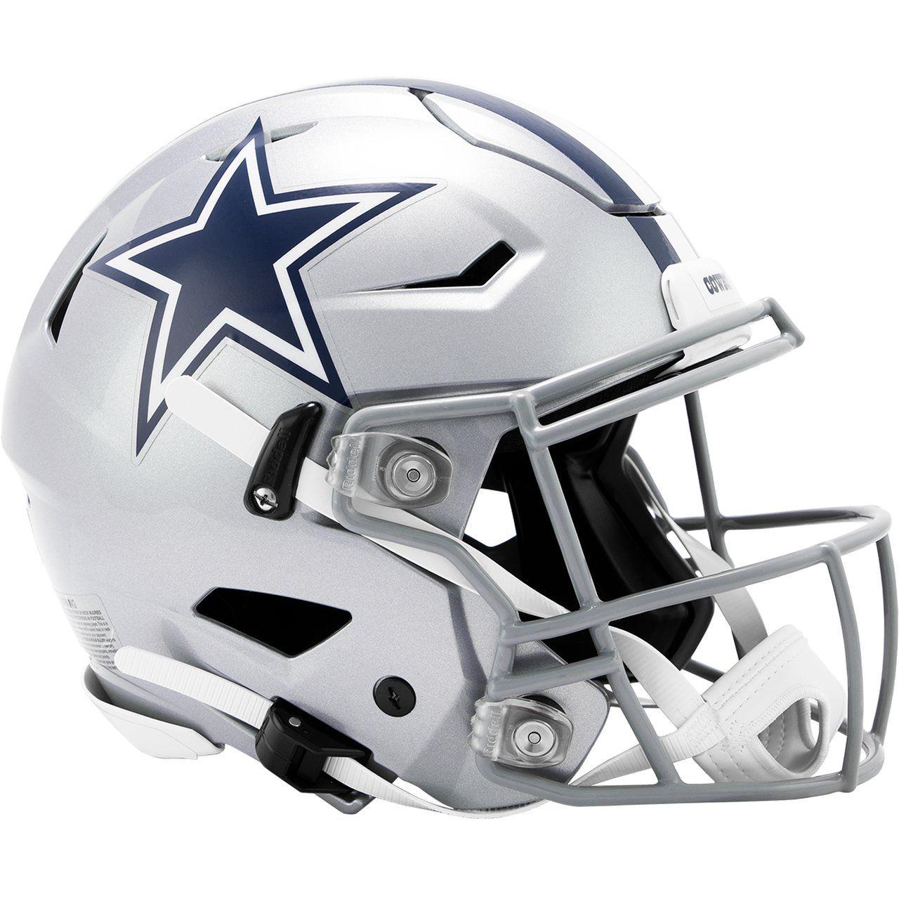 amfoo - Riddell Authentic SpeedFlex Helm - NFL Dallas Cowboys
